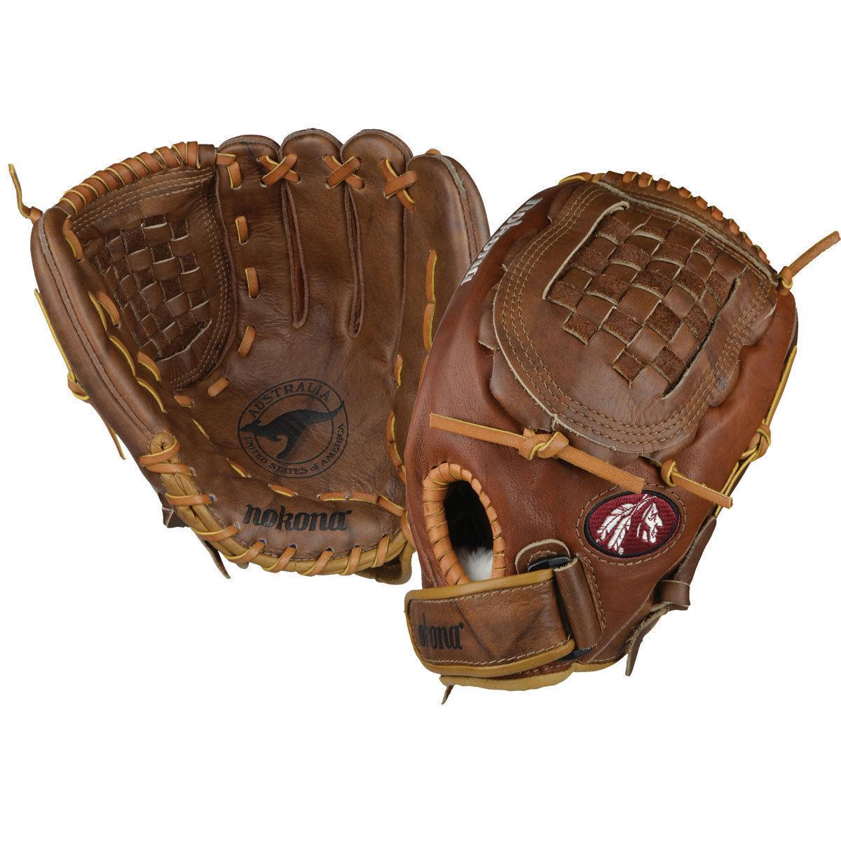 Mens outfield gloves - Nokona Buckaroo Series The Nokona Buckaroo Series Outfield Glove