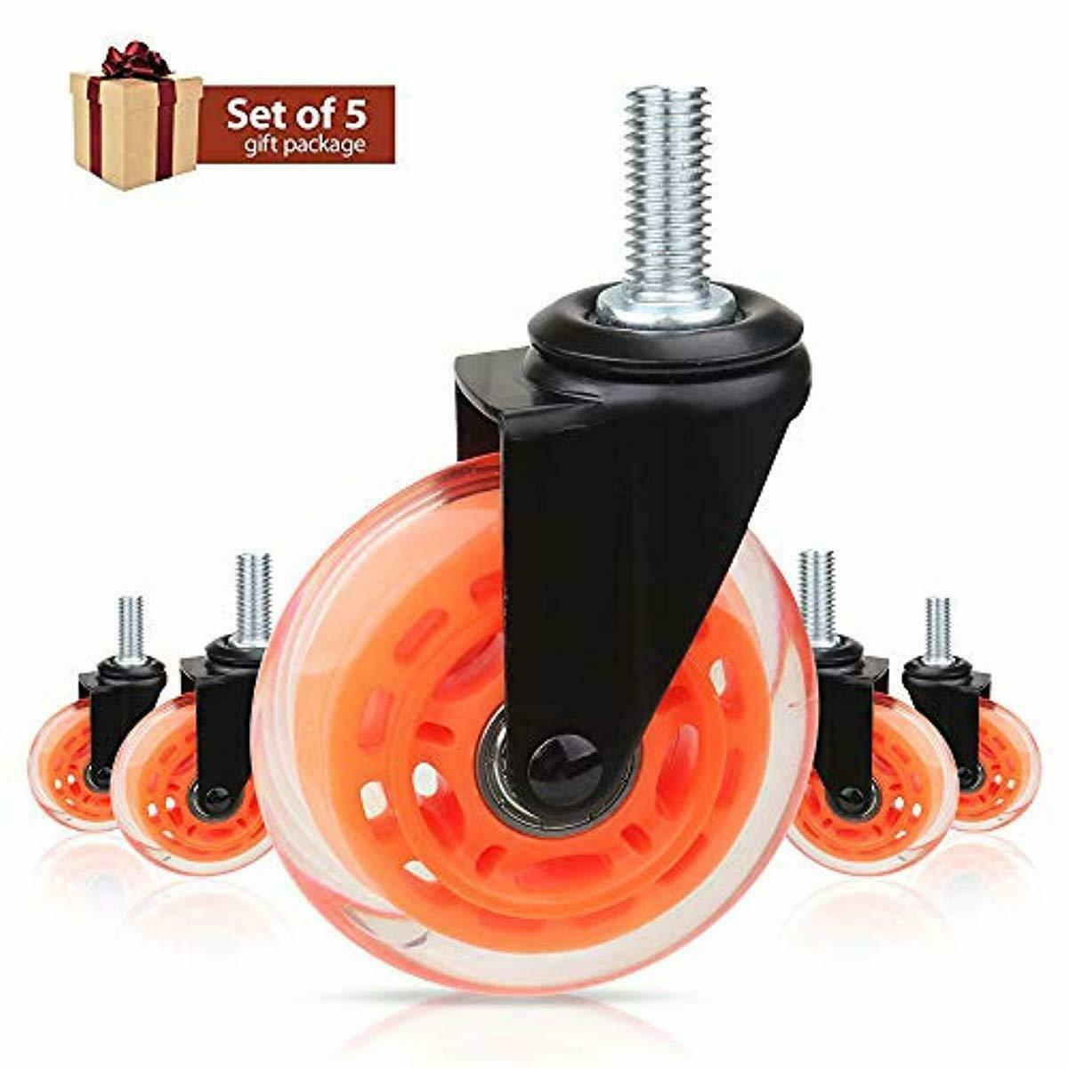 Office Chair Wheels By 8T8 For Smart Home Offices, M8 5/16