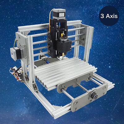 3 Axis Diy Cnc Usb Desktop Wood Engraving Machine Pcb Milling Router Engraver