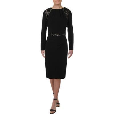 Lauren Ralph Lauren Sharie Women's Sequined Long Sleeve Cocktail Dress