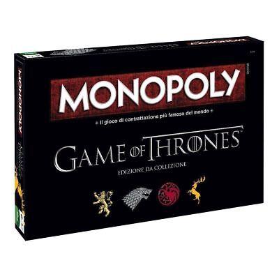 Monopoly Game of Thrones - Gioco da Tavolo Collezione Monopoli Trono di Spade