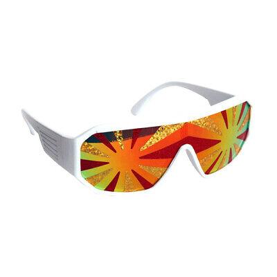 Macho Mann Lava Starburst Sonnenbrille Randy Savage Kostüm pro Wwf (Macho Mann Kostüm)