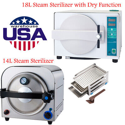 14l Dental Autoclave Steam Sterilizer 18l Dry Heat Sterilizer Sterilizition