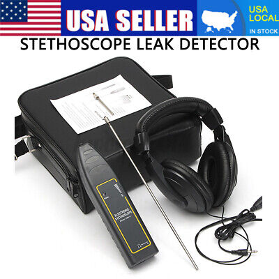 Ultrasonic Leak Detector Transmitter Leak Water Pipe Handheld Diagnose Tool