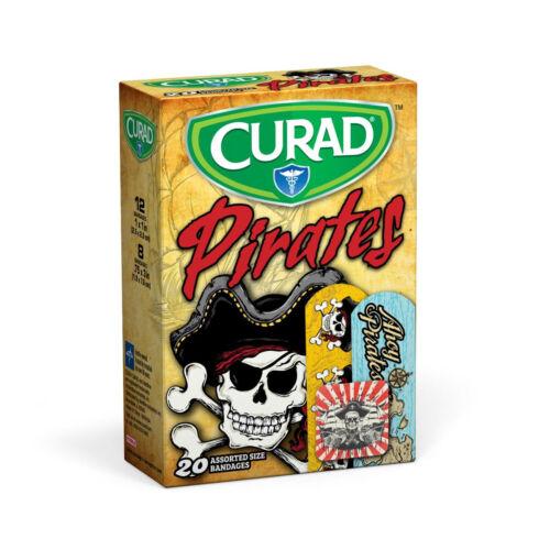 CURAD Pirates Bandages Bandage, Curad, Pirates, 20 CT, ASST