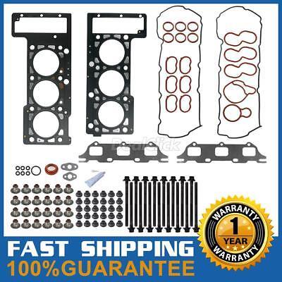 Cylinder head gaskets bolts set Fits Chrysler Dodge Intrepid 2.7L HS9514PT1 (Fel Pro Chrysler Cylinder Gaskets)
