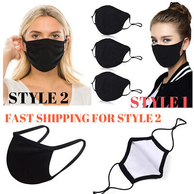 3 pack Washable Reusable Face Mask Double Layer Respirator Face Mask FROM USA