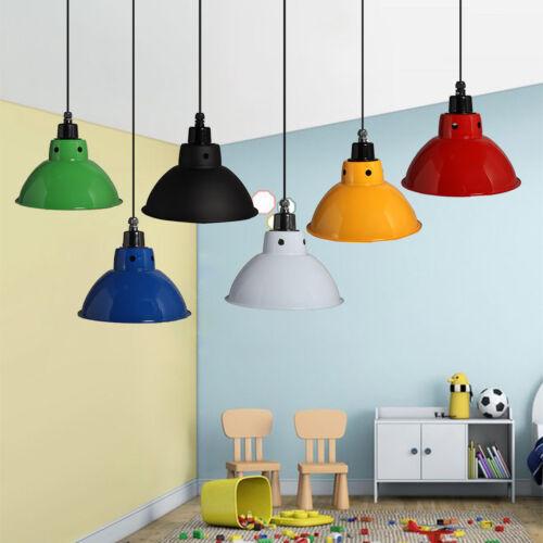 Industrial Pendant  Light  Fixture Ceiling Hanging Retro Lam