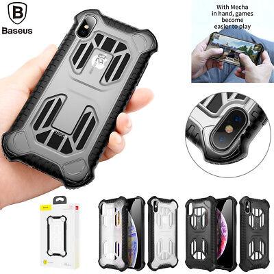 Stoßfest Kühlung decken Schutzhülle Handy HÜLLE Etui Case für iPhone XS Max XR X ()