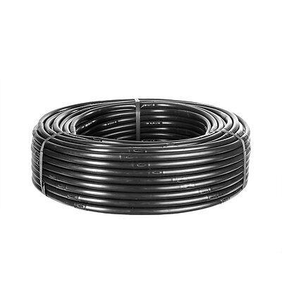 Tropfschlauch 16mm in 100m Länge Perlschlauch Gartenbewässerung schwarz