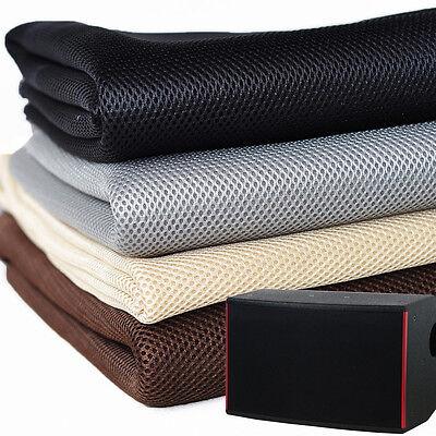 50x140CM Lautsprecher Boxen Bespannstoff Gitter Schutzgitter Stoff Lautsprecher
