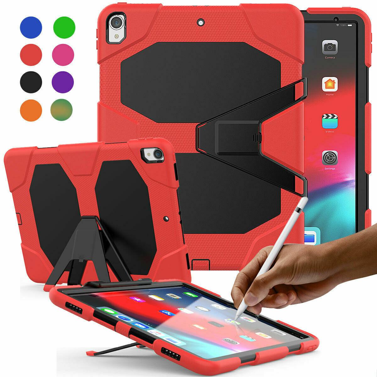 "For New iPad Pro 12.9"" 2020/ 2018 Tablet PC Heavy Duty Shock"
