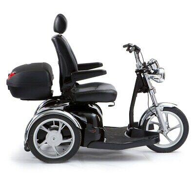 Drive Sport Rider Adjustable 8mph 3 Wheeled Motorbike Scooter Shoprider