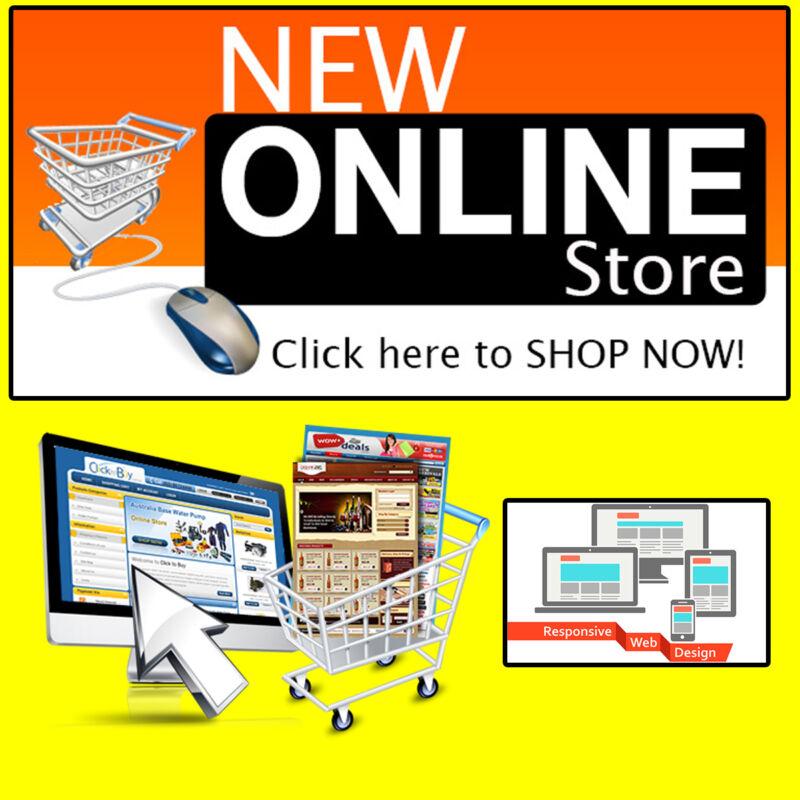 E-commerce Web STORE Website Design