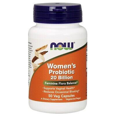 Women's Probiotic 20 Billion Now Foods 50 VCaps