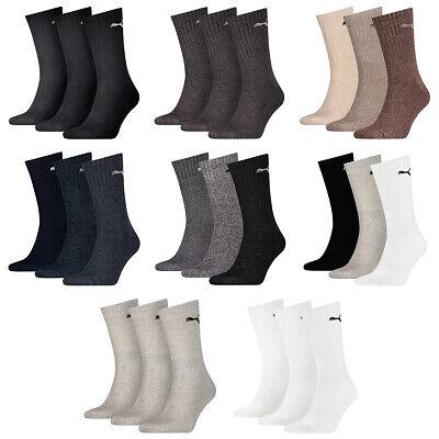 3 Pair puma Sports Socks Tennis Socks Size 35 - 49 Unisex for Him and (Sunglasses For Him)