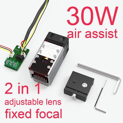 30w Cnc Laser Module Head For Laser Engraving Cutting Machine Engraver Cutter