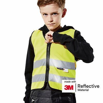 Salzmann Childrens Hi Vis Reflective Safety Vest Made With 3m Material