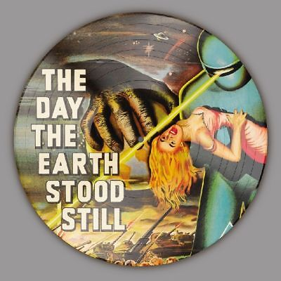 Day The Earth Stood Still ORIGINAL MOVIE SOUNDTRACK New Vinyl Picture Disc (The Day The Earth Stood Still Soundtrack)