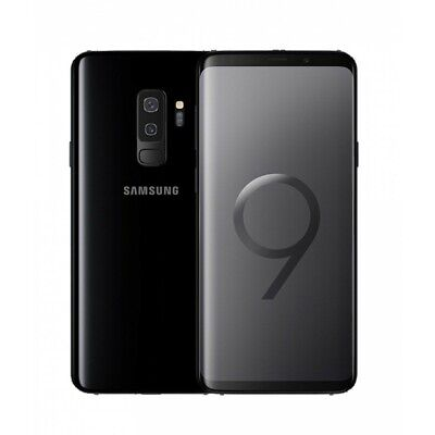 NEW! Samsung Galaxy S9 64GB Midnight Black Unlocked GSM+CDMA Smartphone