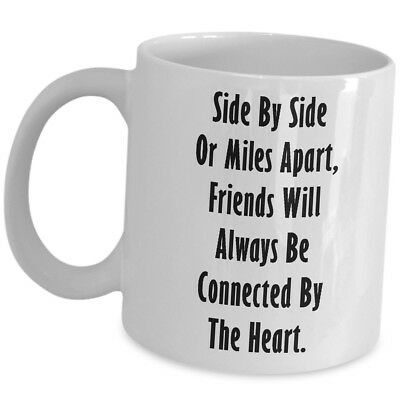 Long Distance Friendship Gift For Her Him Best Friend Coffee Mug Cup Cute