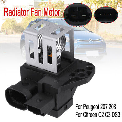Radiator Fan Motor Relay Resistor 1267J6 9662872380 For Citroen Peugeot 207  +