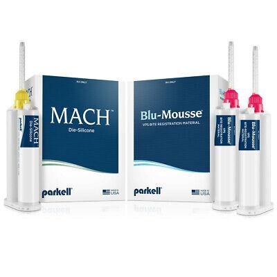 Parkell Dental Impression Material Mach-2 Die-silicone Starter Set Fast