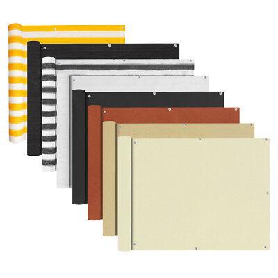 vidaXL Balkonschirm Markise Balkon-Sichtschutz Sonnenschutz mehrere Auswahl