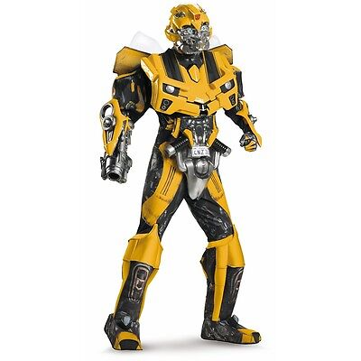 Bumblebee Costume Adult Transformers Halloween Fancy Dress (Halloween Transformer Costume)