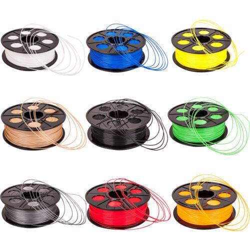 1KG, mit Spule/Rolle, 3D Filament 1.75 mm, 3D Drucker Printer, ABS PLA, DE