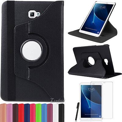 360°Samsung Galaxy Tab A 10.1 T580/T585 A6 Schutz Hülle Cover Case +Pen +Folie