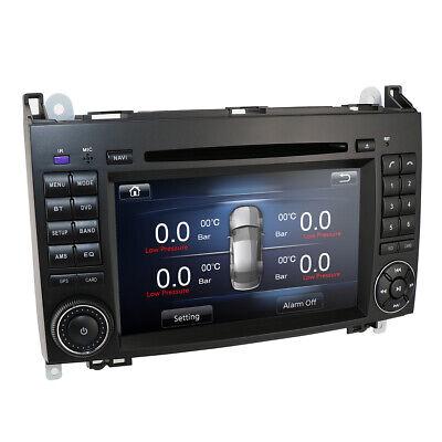 "7"" Autoradio GPS Navi DVD für Mercedes Benz A/B W169 W245 Viano Sprinter DAB+ EU"