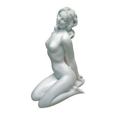 Venus The Goddess (Contemporary Venus of the Bath Nude Goddess Female Kneeling Bonded Marble)
