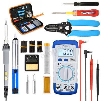 LIUMY 60W Electronic Soldering Iron Kit Welding Tool Adjusta