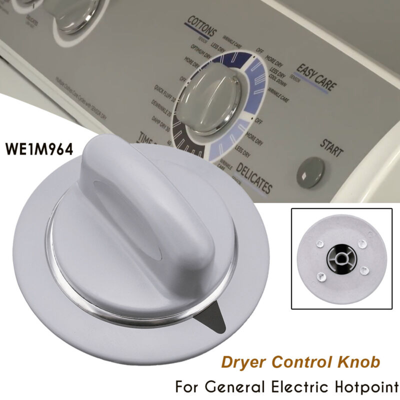 Gray Dryer Knob Control Timer For GE General Electric Hotpoint WE1M964