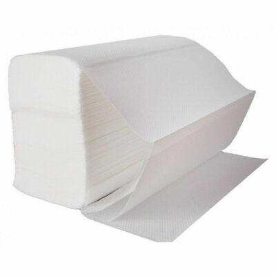 Cheap Tissue Paper (WHITE Z FOLD PAPER HAND TOWELS TISSUES SHEETS 2 PLY CHEAP OFFER PACK OF 200PC)