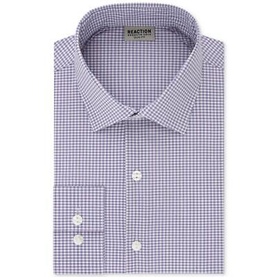 Society of Threads Mens Slim Fit Button-Down Shirt Long Sleeves BHFO 1032