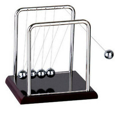 Physics Science Accessory Desk Toys Newtons Cradle Steel Balance Pendulum Balls
