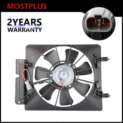 AC Air Conditioning Condenser Cooling Fan Motor & Shroud for Honda CR-V - Air Conditioning Cooling Fan Motor