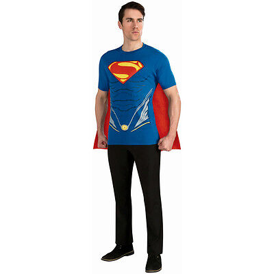 Man of Steel Superman Adult Costume Shirt Rubies 887163