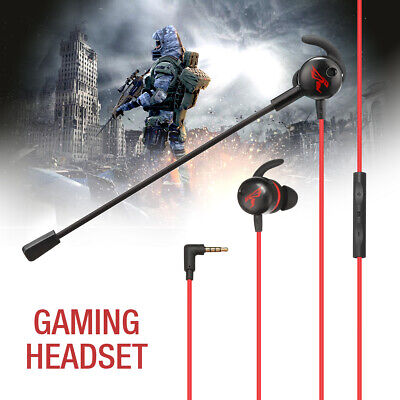 Stereo Earphone Gaming Headset Earbuds 3.5mm Headphone With Mic for Xbox One PS4