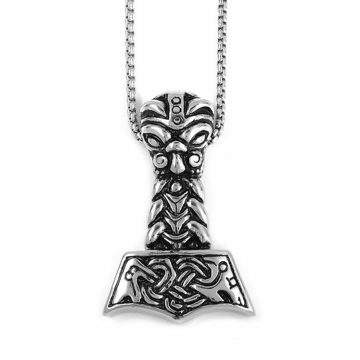 Halloween Mascot Pendant Necklace 24 Stainless Steel Lead Nickel Free - $12.99