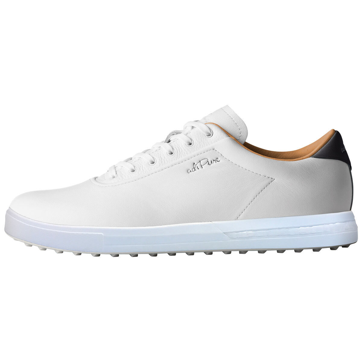 new style 5061d 525e7 Adidas Golf Mens Adipure SP Boost Spikeless Climaproof Leather Golf Shoes