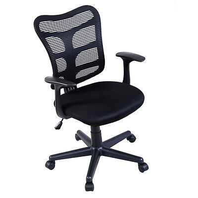 Modern Ergonomic Mid-Back Executive Computer Desk Task Office Chair Mesh Back