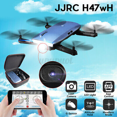 RC Drone Elfie Foldable HD WiFi Camera G-Sensor Quadcopter Hover Christmas