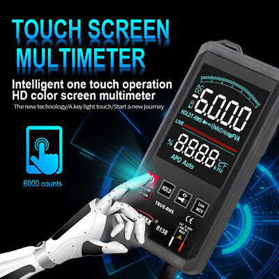 Dcac Digital Multimeter Touch Professional Analog Tester True Rms Multimetro