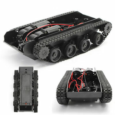 Robot Smart Tank Chassis Diy Kit Car Arduino Light Shock For 130 Motor 3-7v
