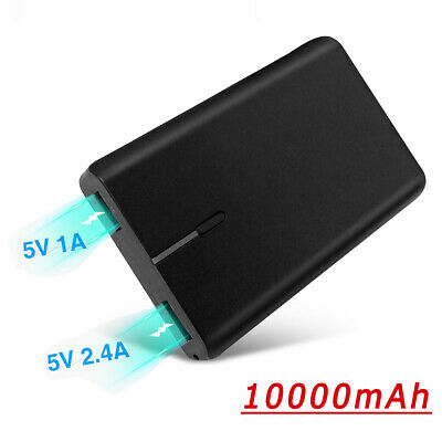 10000mah portable Power Bank Backup External USB Battery Charger For Cell Phone