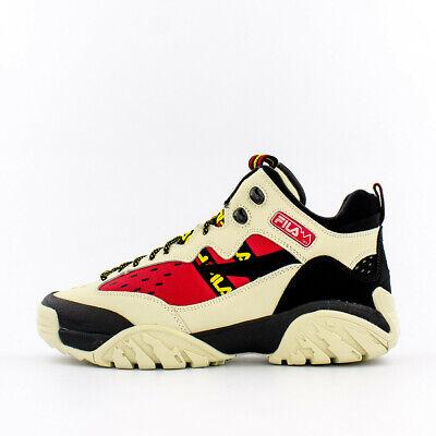 Fila Fixture Hiking Shoe White/Red/Black (1JM00647-204)