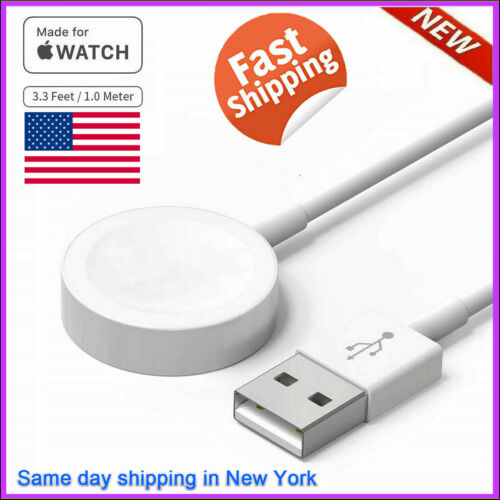 Magnetic Wireless Charger USB Power For Apple Watch iWatch Series 1/2/3/4/5/6/SE